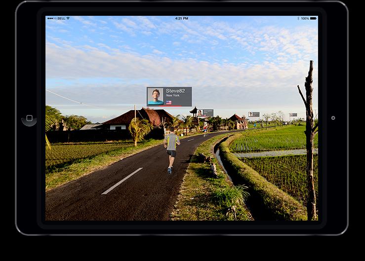 Nautilus - app per iPad RunSocial™
