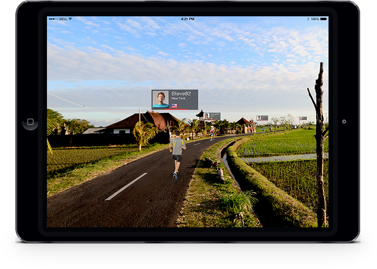 Nautilus – ipad RunSocial™ App